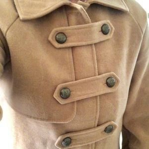 Vintage Camel colored Peacoat